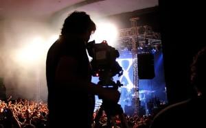 Filmación de conciertos