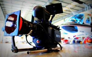 Filmación aérea
